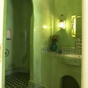 Bath room Majorelle